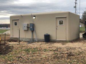 Fiberglass Equipment Shelter